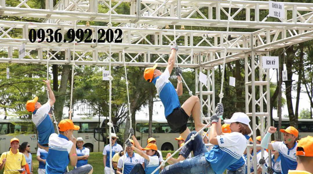 Sự kiện ngày hội thể thao với nhiều trò chơi phù hợp thể lực của từng nhóm người